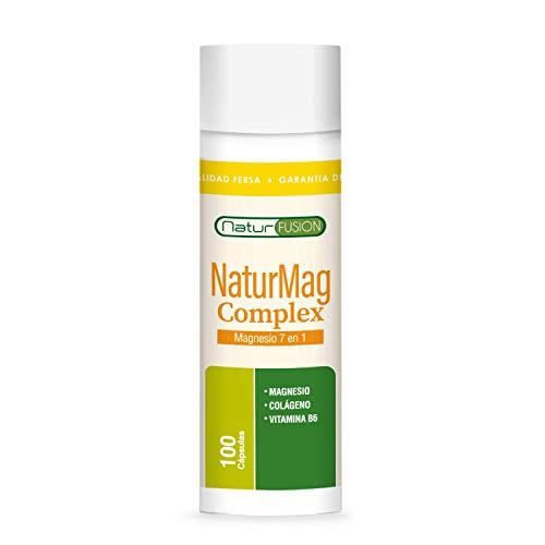 Magnesio Puro + Colágeno + Vitamina B6|Elimina...