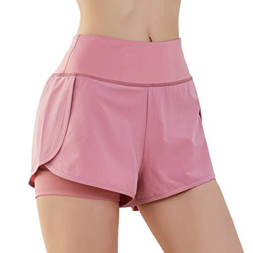 SKYSPER Pantalones Cortos Deportivos para Mujer...