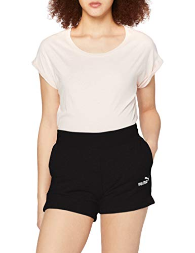 PUMA ESS Sweat Shorts TR Pants, Mujer, Cotton...