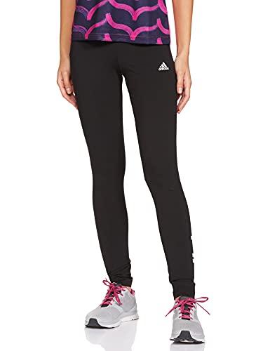adidas W Lin Leg Leggings, Womens, Black/White,...