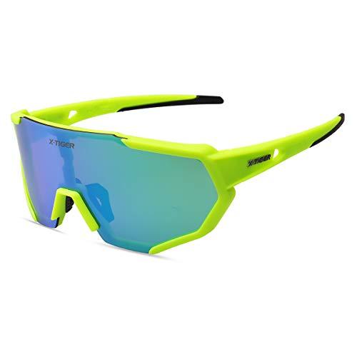 X-TIGER Gafas Ciclismo CE Certificación...*