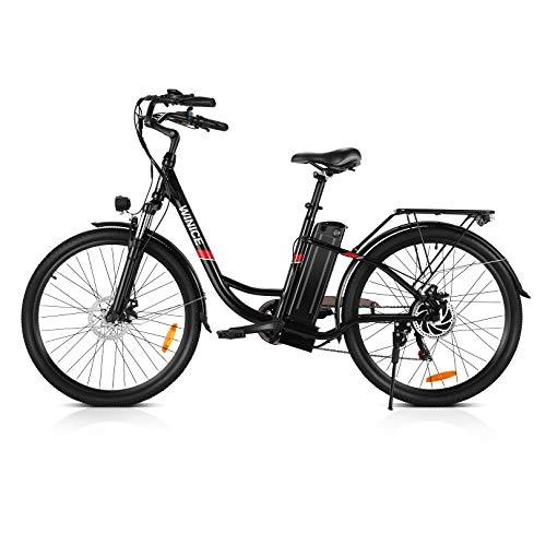 VIVI Bicicleta Electrica, 26 Pulgadas Ebike 250W...