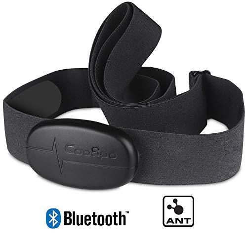 CooSpo Banda de Frecuencia Cardiaca Bluetooth 4.0...