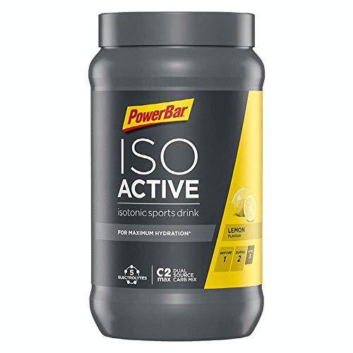 PowerBar Isoactive Lemon 600g - Bebida Deportiva...