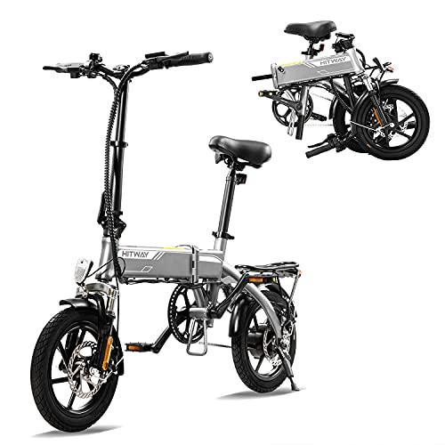 HITWAY Bicicleta eléctrica E Bike Bicicletas...
