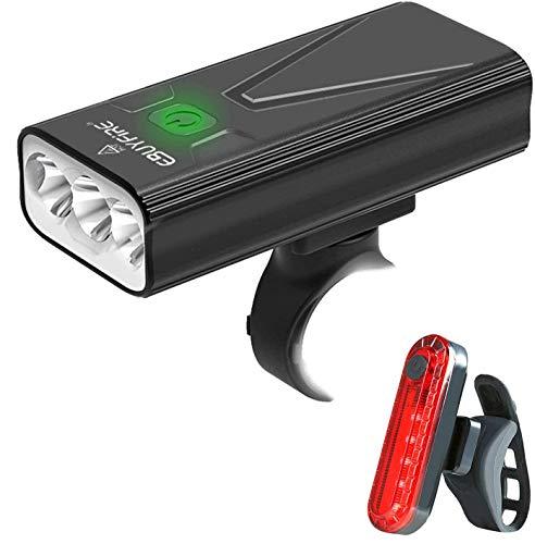 EBUYFIRE Luz Bicicleta LED Recargable USB, 3000...