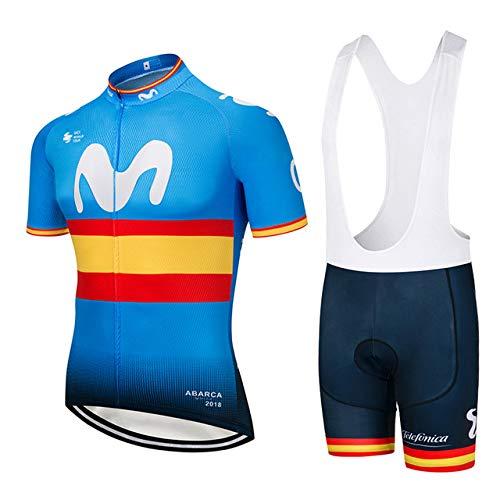 ZHLCYCL Traje Ciclismo Hombre, Maillot Ciclismo y...