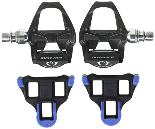 SHIMANO Pedales PD9000 - Pedales Dura Ace Carbon...