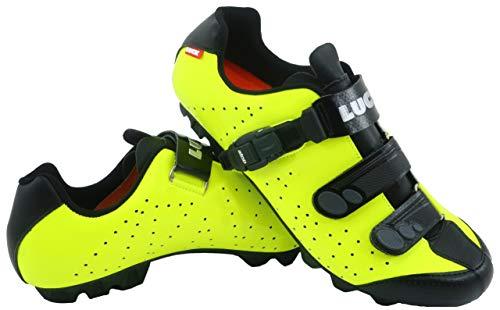 LUCK Zapatillas de Ciclismo MTB ODÍN con Suela de...