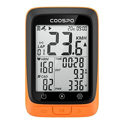 COOSPO BC107 GPS Ciclismo Ordenador Inalámbrico...