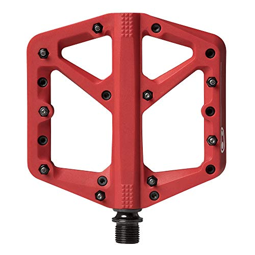 Crankbrothers Unisex's Stamp-1 Pedales, Rojo,...*
