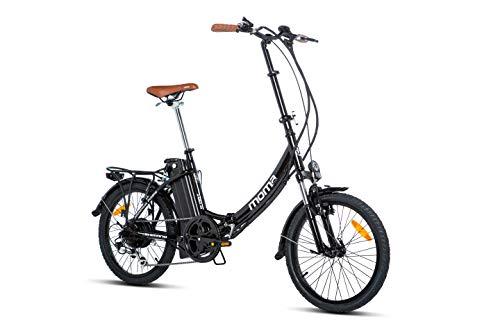 Moma Bikes Bicicleta Electrica Plegable Urbana...