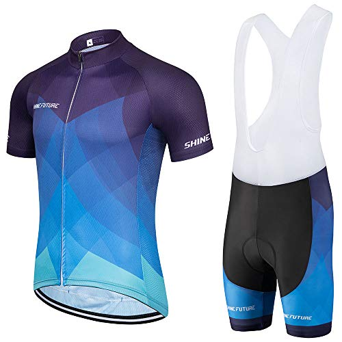 shine future Conjunto de maillot de ciclismo para...