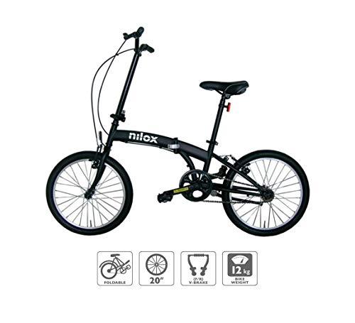 Nilox Micro Bike 20P-X0 Bicicleta (Plegado,...