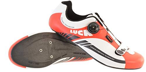 LUCK Zapatillas de Ciclismo para Carretera Plus,...*