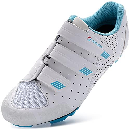 URDAR Zapatillas de Ciclismo Mujer Montaña...