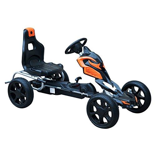 HOMCOM Go Kart Racing Deportivo Coche de Pedales...