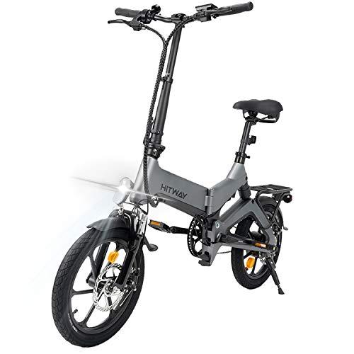 HITWAY Bicicletas eléctricas, Aleación de...