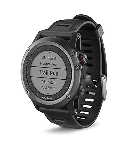 Garmin Fenix 3 HR - Reloj multideporte con GPS y...