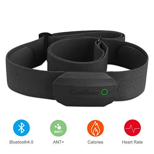 CooSpo Frecuencia Cardíaca Bluetooth Banda...