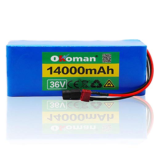 Bateria Bicicleta Electrica 36v 10S4P 14ah 500w...