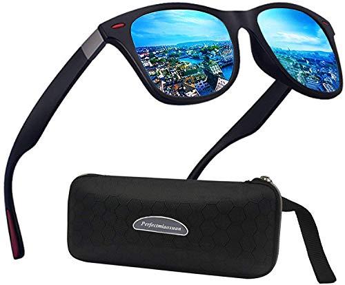 Perfectmiaoxuan Gafas de sol polarizadas Hombre...