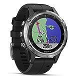 Garmin Fenix 5 Plus - Reloj GPS multideporte,...