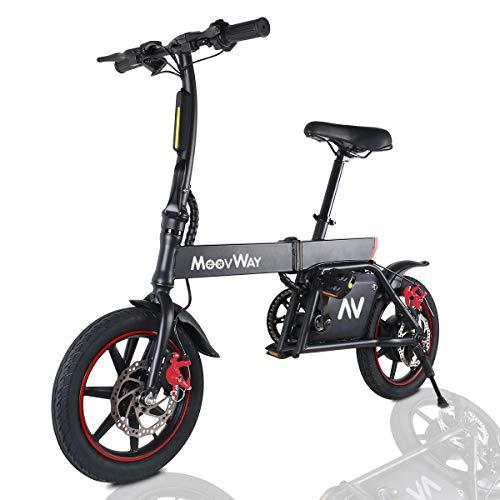 Windgoo Bicicleta Eléctrica Plegables, 350W Motor...