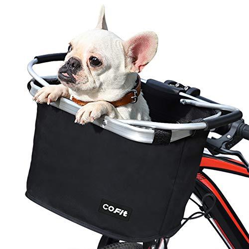 COFIT Cesta de Bicicleta Plegable, Canasta de...