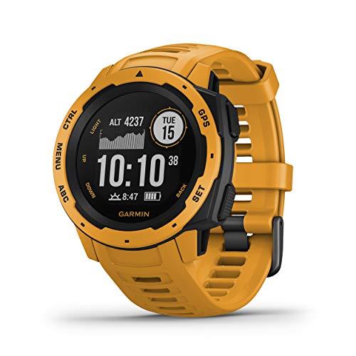 Garmin Instinct - Reloj con GPS, Unisex, Amarillo...