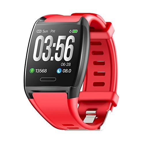 HalfSun Impermeable IP67 Smartwatch, HD Color Screen,Pulsera Inteligente con Pulsómetro, Monitor de Presión Arterial,Monitor de Calorías, Sueño, Podómetro,Pulsera Actividad para Android y iOS
