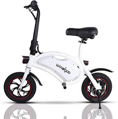 Mangoo Bicicleta Electrica Plegable Urbana 36V...