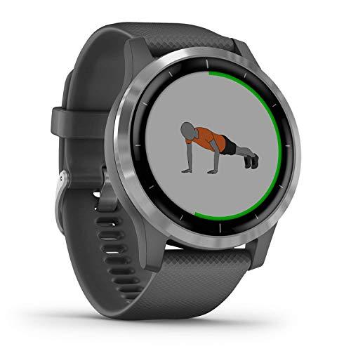 Garmin Vivoactive 4 - Reloj inteligente con GPS y...