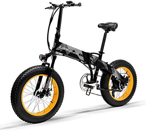 Bicicleta Eléctrica Plegable Potente 1000W/500W...