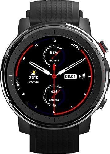 Amazfit Stratos 3 Smartwatch Sports - Black*