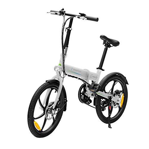 SMARTGYRO Ebike Crosscity White - Bicicleta...