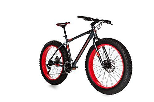 Moma Bikes Bicicleta Montaña FAT 26'Alu, SHIMANO...