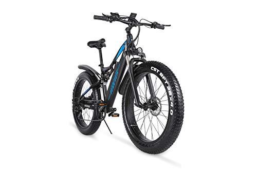 VOZCVOX Bicicleta Eléctrica MX03 con Batería de...