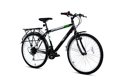 BJORD Bicicleta Avenue 26', Adultos Unisex, Negro,...