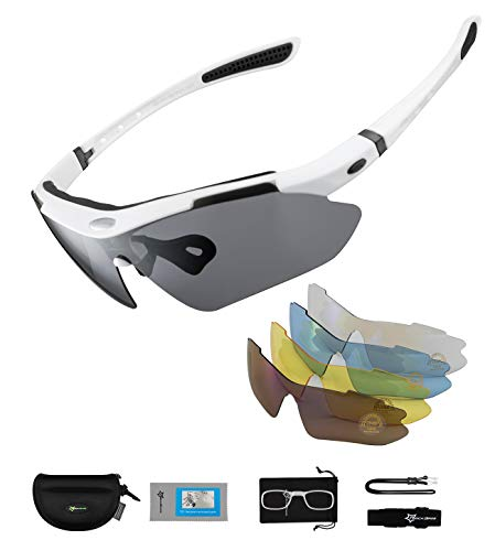 ROCKBROS Gafas de Sol Polarizadas con 5 Lentes...
