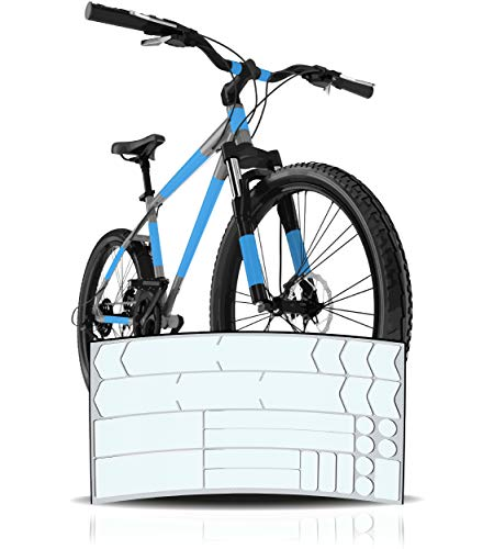 Pegatinas protectoras para marco de bicicleta, por...
