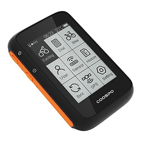 COOSPO Ordenador de Bicicleta GPS Inalámbrico...