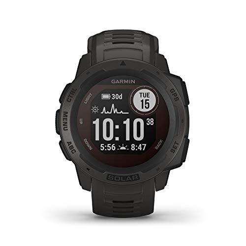 Garmin Instinct Solar, Reloj GPS resistente con...