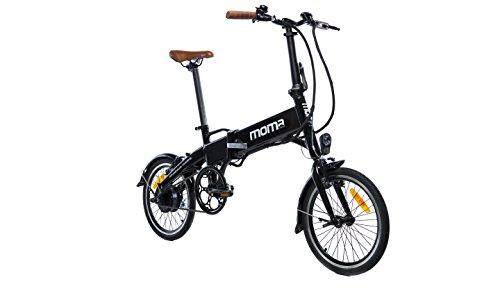 Moma Bikes Bicicleta Electrica, Plegable, Urbana...