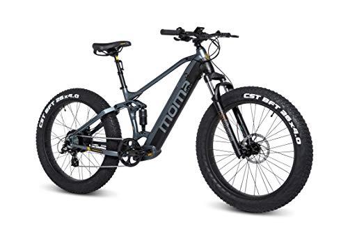 Moma Bikes E-MTB, FATBIKE 26 pulgadas PRO,...