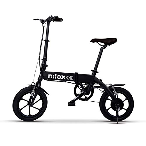 """Nilox ebike X2 Plus Plegable Ruedas 16""""; Adulto,...*"""