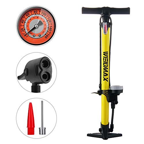 WEIDMAX Bomba para Bicicleta, Bomba ergonómica...