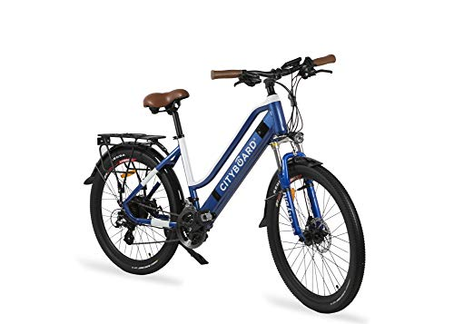Cityboard E- City Bicicleta Eléctrica, Unisex...