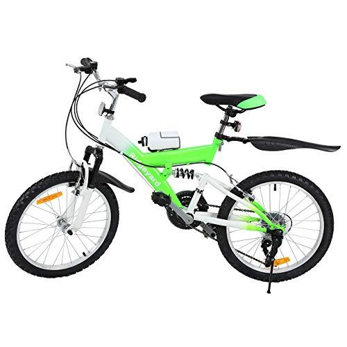 MuGuang Bicicleta de Montaña 20 Pulgadas...