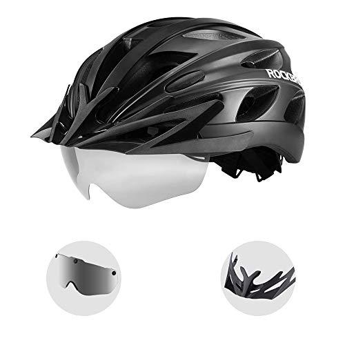 ROCKBROS Casco Integral para Ciclismo Desmontable...